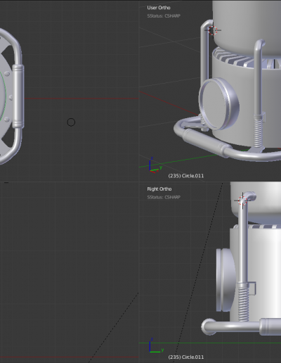 Modeling 3D of X-ray generator._5