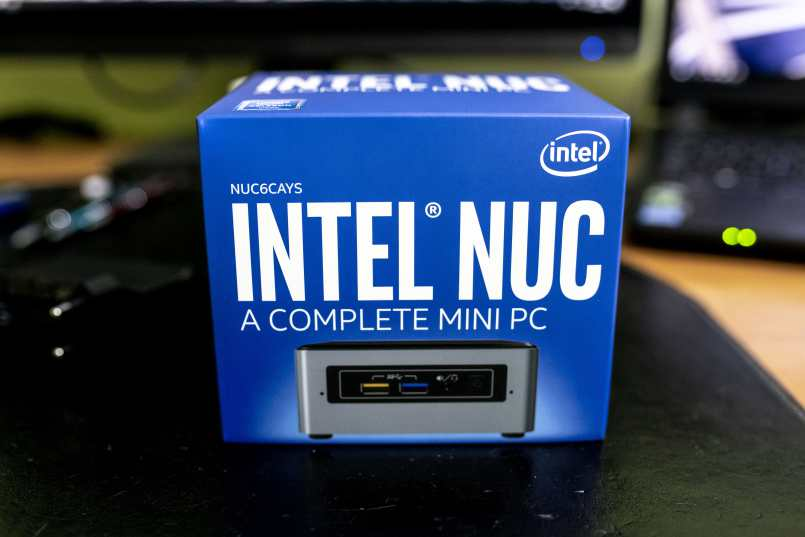 Intel Nuc NUC6CAY as pfsense router.