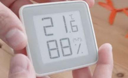 Xiaomi Mijia E-ink Screen Temperature Humidity Sensor First Look
