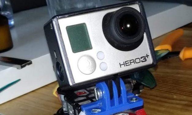 TransTEC LASER HD GoPro Mount