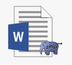 Laravel8 and Word_docx